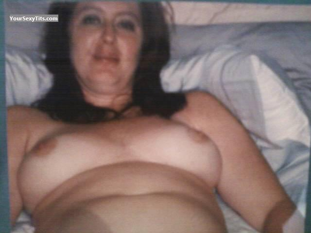 Tit Flash: Big Tits - Topless DeerparkTX Jen from United States